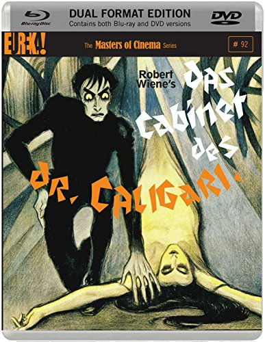 Das Cabinet Des Dr. Caligari (Masters of Cinema) (DUAL FORMAT Edition) [Blu-ray] [UK Import]