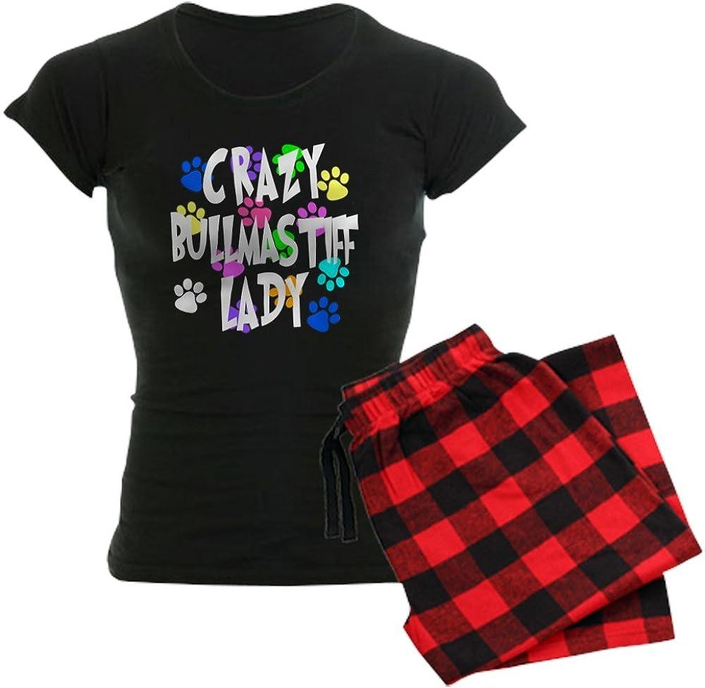CafePress Crazy Bullmastiff Lady PJs Denver Mall Women's Dark Superior