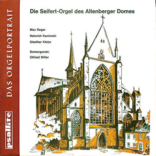Max Reger / Heinrich Kaminski / Giselher Klebe: Das Orgelportrait; Fantasie über den Choral; Toccata über den Choral; Introitus, Aria ed Alleluja für Orgel op. 47 - 96/291069 - Vinyl LP