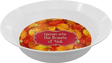 Fall Leaves Dinner Set - 4 Pc
