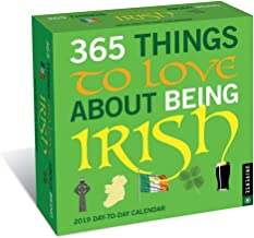 irish desk calendar