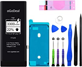 oGoDeal Battery Replacement Compatible for iPhone 8 Plus High Capacity Battery Repair Kit 3300mAh A1864, A1897, A1898