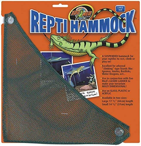 """Zoo Med Repti Hammock Large - (17.5"""" Long x 12"""" Wide) - Pack of 3"""