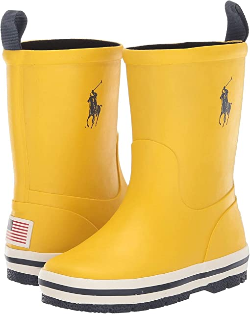 Yellow Rubber/Navy PP