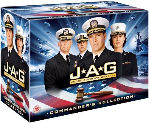 JAG - Im Auftrag der Ehre Komplettbox Staffel 1-10 / Season 1+2+3+4+5+6+7+8+9+10 [in Deutsch und Englisch]