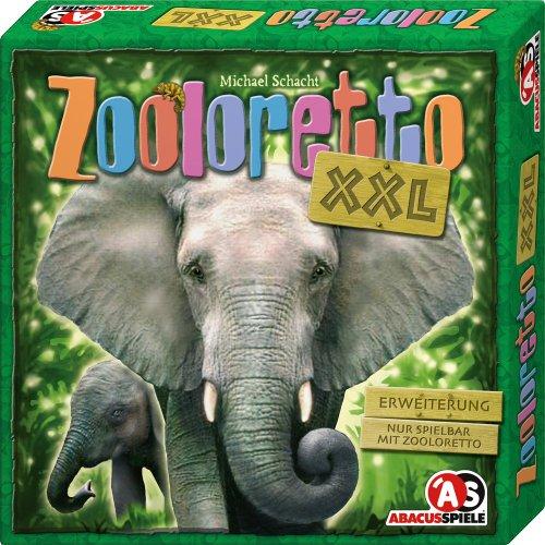 ABACUSSPIELE 04081 - Zooloretto XXL. 1. Erweiterung, Brettspiel