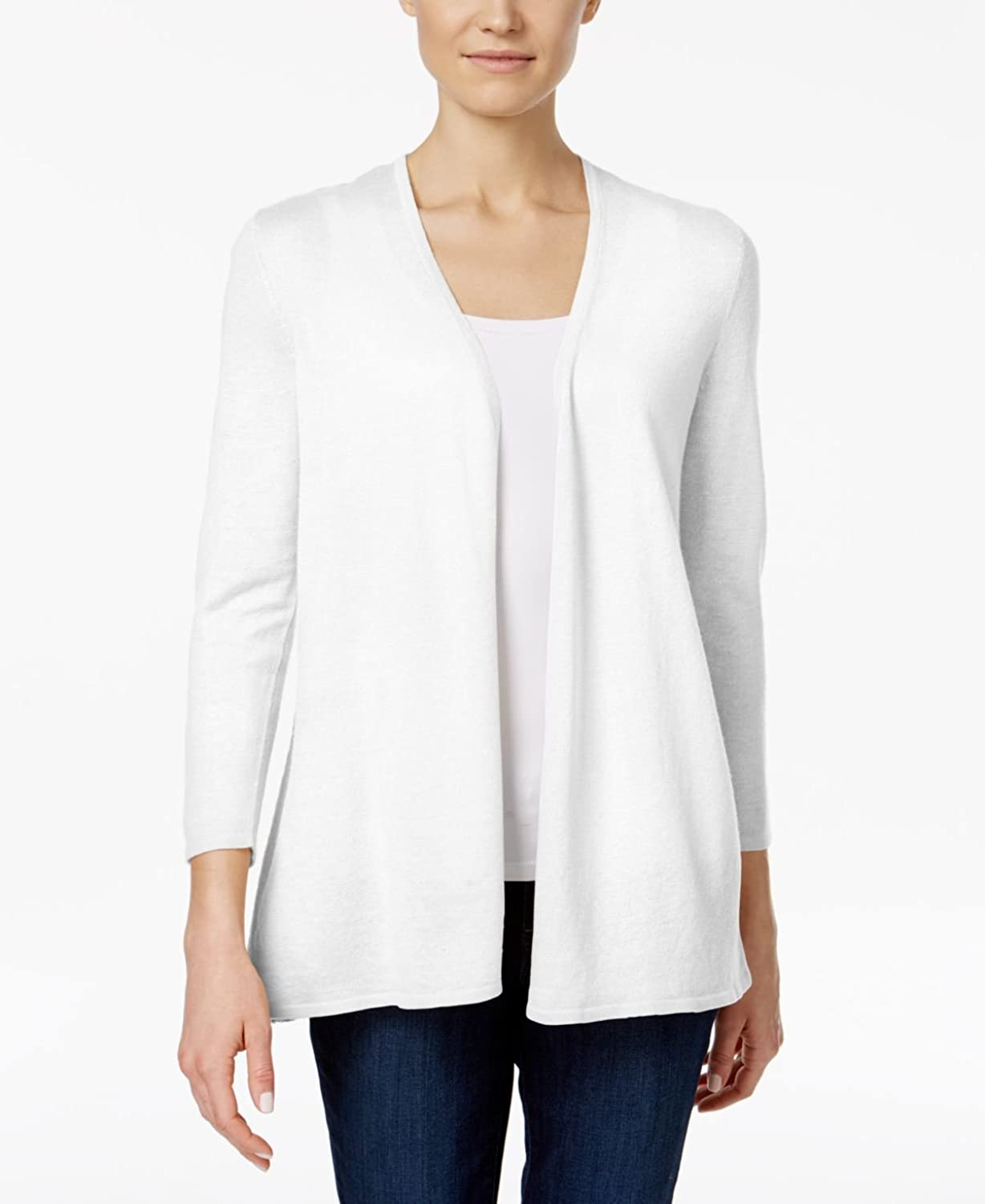 Charter Club Womens Open Front Cardigan Sweater