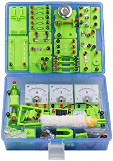 School Physics Labs Basic Electricity Discovery Circuit And Magnetism Experiment Kits for Kids Junior Senior High School S...