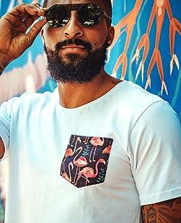 Camiseta Flamingos Pocket Strip Me
