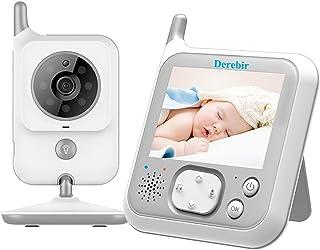 Vigilabebés Inalambrico Bebé Monitor Inteligente con Cáma