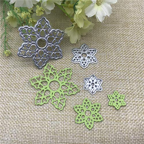 nonbrand Cutting die 3D Flower Metal Cutting Dies Stencils For Diy Scrapbooking Decorative Embossing Handcraft Die Cutting Template