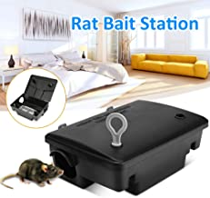 Lixada Household Mousetrap Warehouse Hotel Rat Mouse Mice Rodent Bait Block Station Box Trap Catcher