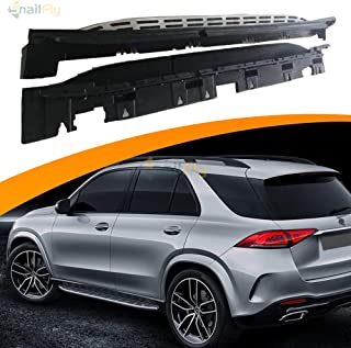 SnailAuto Fit for Mercedes Benz GLE W167 2019 2020 Running Boards Side Step Nerf Bar Foot Pedal