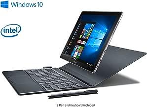"Samsung Galaxy Book LTE 12"" Windows 2-in-1 PC Silver, 4GB RAM/128GB SSD, SM-W727VZKB Unlocked GSM/CDMA (VZW) ( LTE bands 2,3,4,5,7,13) - US warranty"