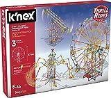 K'nex- 3 en1 744Pzs. Knex Thrill Rides 3 en 1 Parque Atracciones: Noria + Sillas Voladoras + Péndulo 744 Piezas (Fábrica de Juguetes 41230)