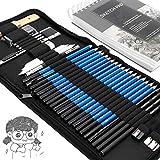 Drawing Pencils Sketch Art Set-40PCS Drawing and...