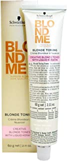 Schwarzkopf Professional Blondme, Blonde Toning, Sand, 2.1 Ounce