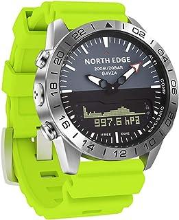 Heart Rate Blood Pressure Monitoring Business Smart Watch Luxury All-Steel Altimeter Compass Sports Digital Waterproof Sma...