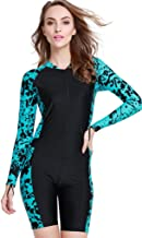 Women's One-Piece Surf Swim Wet Suit Long Sleeve Rashguard Sun Protection