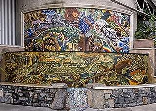 HistoricalFindings Photo: Alan Shepp,Mosaic Fountain,Napa Valley
