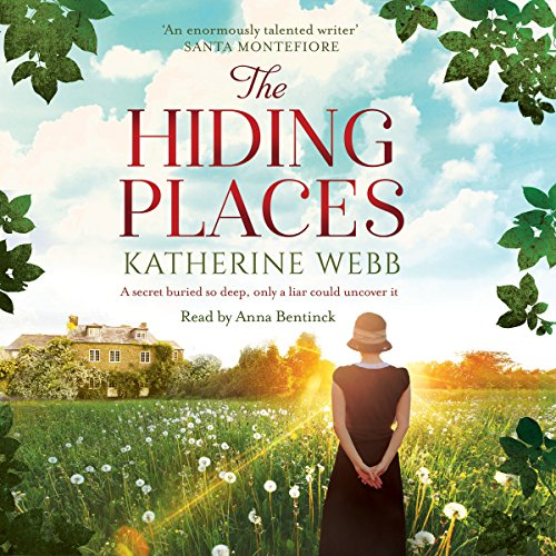 The Hiding Places audiobook cover art