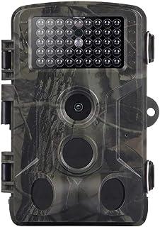 FGKLU Cámara Infrarroja 1080P Vida Silvestre - Cámara de Caza de Visión Nocturna con Gran Angular de 120° / Tiempo de Activación de 0.2s para Seguridad en el Hogar/Animal