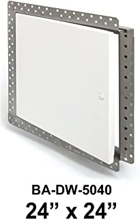 "24"" x 24"" Flush Access Door with Drywall Bead Flange - Acudor"