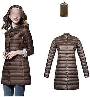 Surprise S Ultra Light Duck Down Long Jacket Women Padded Warm Coat Female Jackets Overcoat