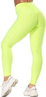 STARBILD Legging Sportivi per Donna Anti-Cellulite Vita Alta Pantaloni Compressione Slim Push Up Yoga Fitness