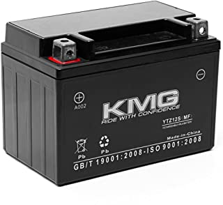 KMG Honda FSC600 Silver Wing 2002-2012 Replacement Battery YTZ12S Sealed Maintenace Free Battery High Performance 12V SMF OEM Replacement Maintenance Free Powersport Motorcycle Scooter