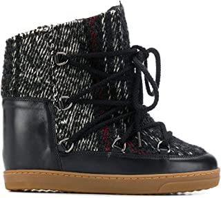 ISABEL MARANT ÉTOILE Luxury Fashion Womens BO002719A030S02FK Black Ankle Boots | Fall Winter 19