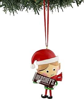 Hershey's Kisses Reese's Kurt Adler Elf Christmas Holiday Ornament Gift Boxed (3.25