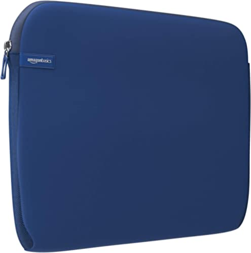 AmazonBasics 15.6 Inch Laptop Computer Sleeve Case - Navy
