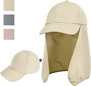 Outdoor Fishing Hat with Ear Neck Flap Cover Wide Brim Sun Protection Safari Cap for Men Women Hunting, Hiking, Camping, Boating & Outdoor Adventures