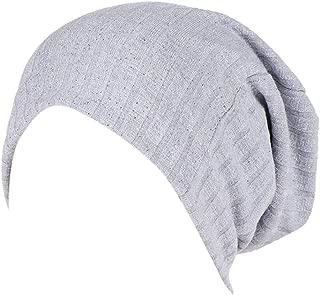 Tootu Women Double-Layered Moon Hat Muslim Chemo Cap Hair Loss Head Scarf Hat
