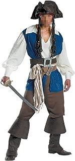 Halloween Pirate Cosplay Men's Pirate Swashbuckler Costume Buccaneer Dress Up & Role Play