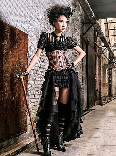 Dark Dreams Gothic Mittelalter LARP Rock Black Mamba - 7