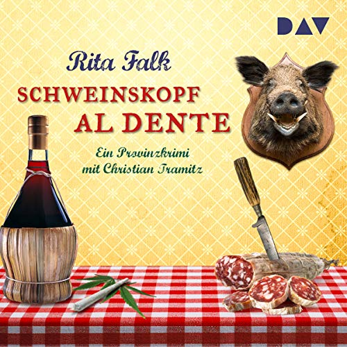 Schweinskopf al dente audiobook cover art