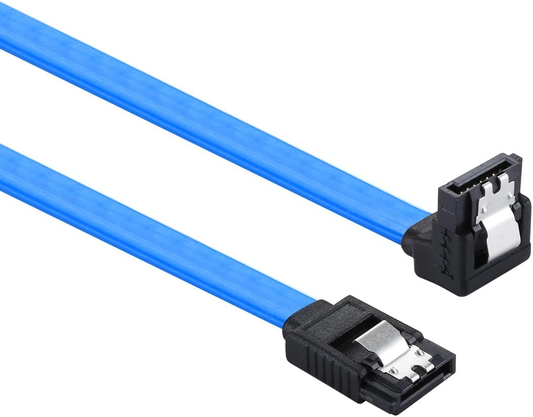 lowest price 26AWG SATA III Sacramento Mall 7 Pin Data Elbow Female Straight to