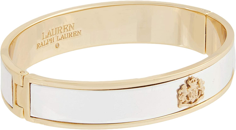 Lauren Ralph Lauren Crest Bangle Bracelet