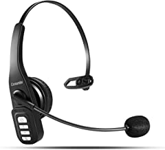 Bluetooth Headset 5.0, 22 Hrs HD Talktime Wireless Headset with CVC6.0 Noise Cancelling..