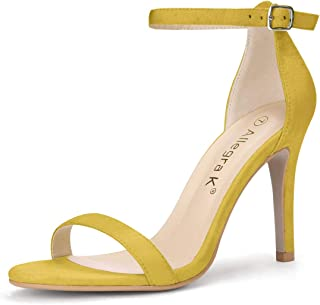 Best pale yellow high heels Reviews