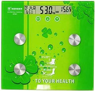 HJTLK Básculas de baño Digitales, báscula electrónica para el hogar para Adultos Que Pesa la Salud