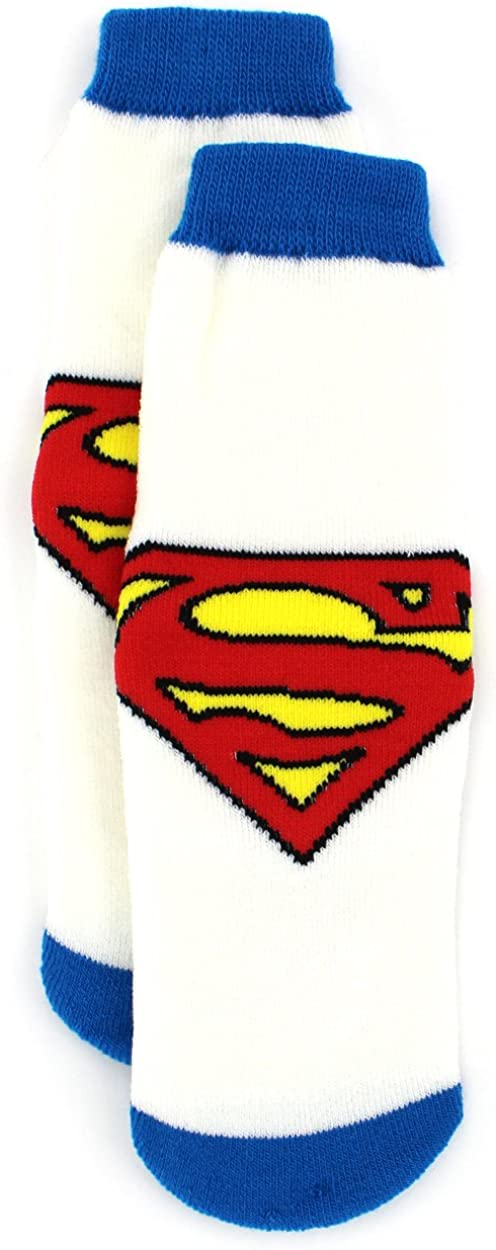 Superman Boys Max Ranking TOP7 54% OFF Slipper Socks Toddler Little Kid Big
