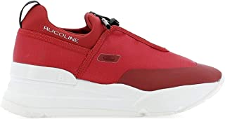 RUCO LINE Women's 012683679ROSSO Red Polyamide Sneakers