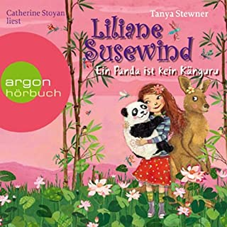 Ein Panda ist kein Känguru     Liliane Susewind für Hörer ab 8 Jahren 6              Autor:                                                                                                                                 Tanya Stewner                               Sprecher:                                                                                                                                 Catherine Stoyan                      Spieldauer: 2 Std. und 37 Min.     53 Bewertungen     Gesamt 4,7