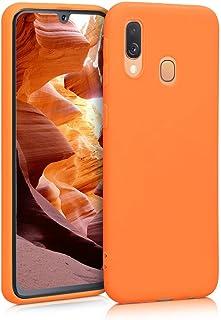 kwmobile telefoonhoesje compatibel met Samsung Galaxy A40 - Hoesje voor smartphone - Back cover in Cosmic Orange