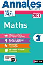 Annales Brevet 2021 Maths - Corrigé