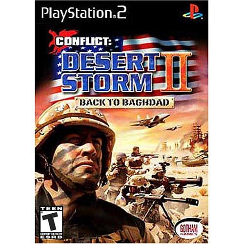 Conflict:  Desert Storm II - Back to Baghdad - PlayStation 2 (Renewed)