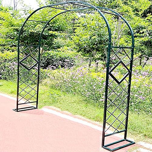 Arco De Rosa Portátil para Trabajo Pesado Pérgola Cenador Adornos De Jardín Estante De Exhibición para Plantas Trepadoras Al Aire Libre, Arco De Soporte Decoración De Jardín